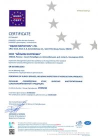Certificate (Iqube-Inspection)